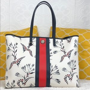 🌸OFFERS?🌸Tory Burch Extra Large Stripe Tote